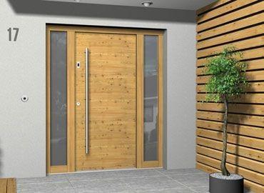 Lesena masivna vrata po meri