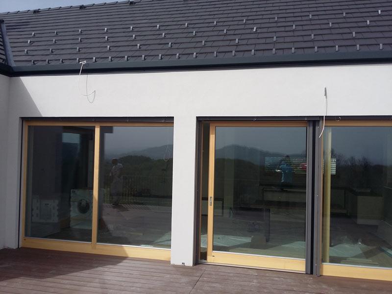 Nova lesena okna