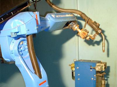 Robotsko varjenje pločevine in aluminija