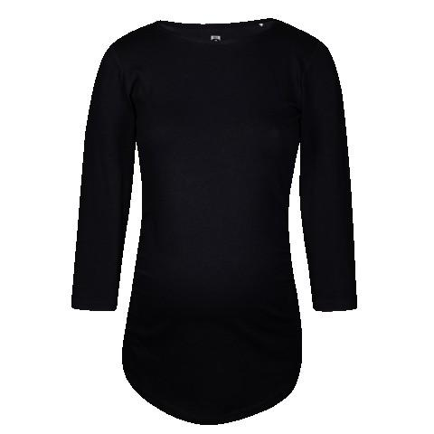 Ženska črna majica