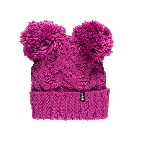 Otroška zimska kapa s cofki