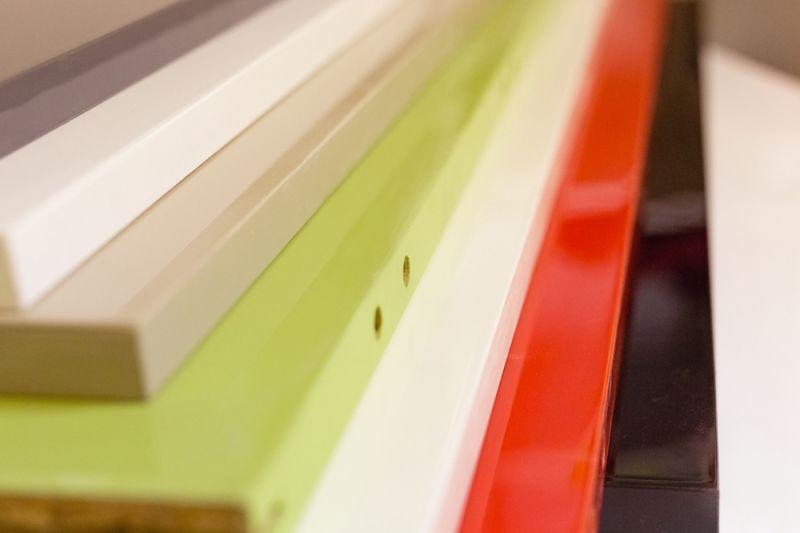 Barvno lakiranje z visokim sijajem