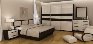 Moderno pohištvo spalnic