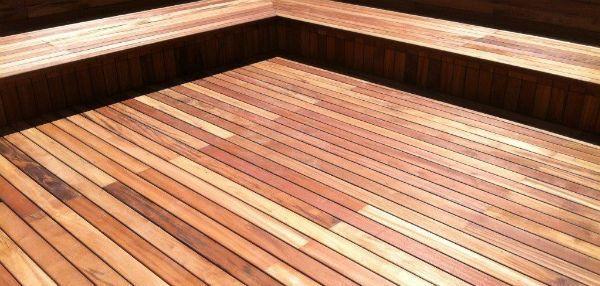 Maderales lesene terase