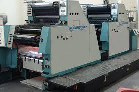 Tisk in oblikovanje - tiskalni stroj