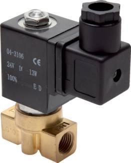 hidravlični elektromagnetni ventil