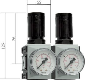 Precizni regulatorji tlaka