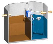 Biološka čistilna naprava za vodo