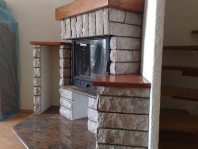 Obzidava in montaža kamina