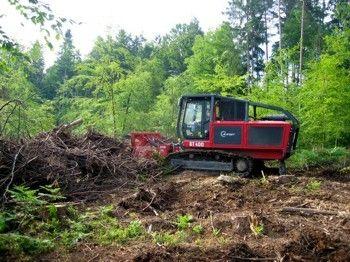 Urejanje vrta z drobilcem vej