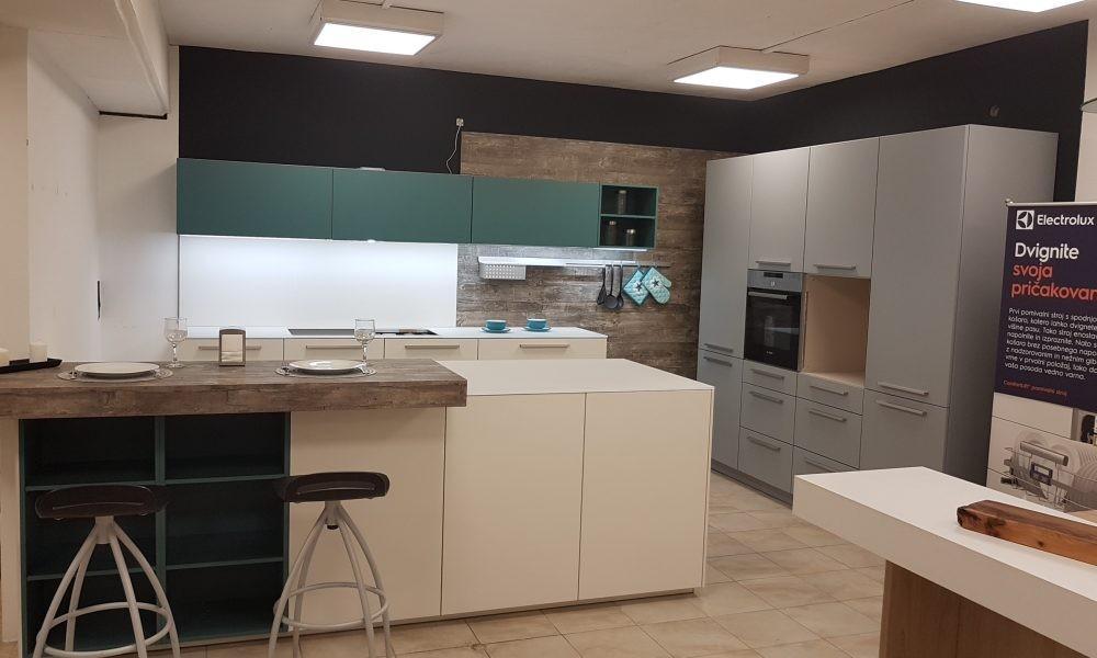 Eksponat lakirane moderne kuhinje Designo