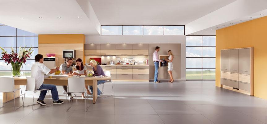 Lesene kuhinje so lahko moderne!