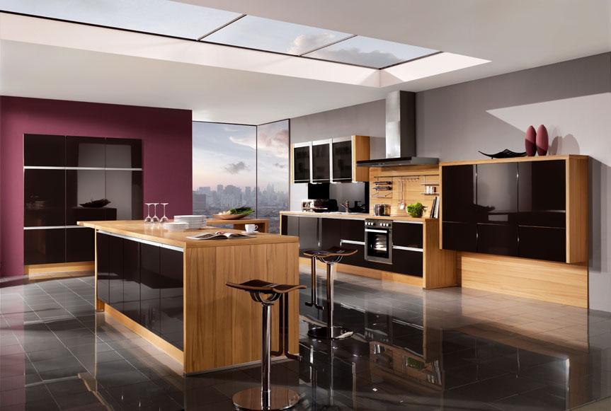 Masivne lesene kuhinje