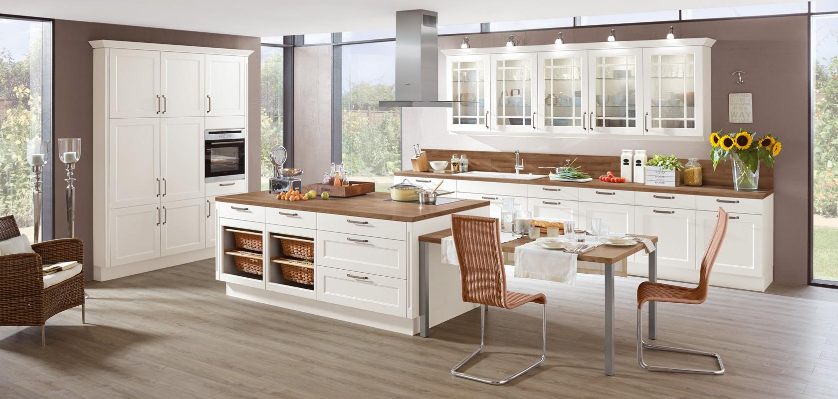 Moderna kuhinja rustikalnega izgleda
