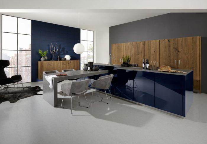 Moderna kuhinja izdelana po meri in 3D izris