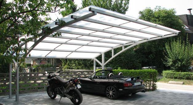Moderni nadstreški za avtomobile