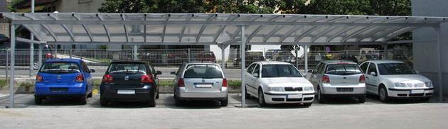 Nadstreški za avtomobile