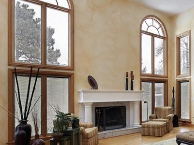 Tudi lesena polkna so lahko prilagojena vašim po naročilu narejenim oknom