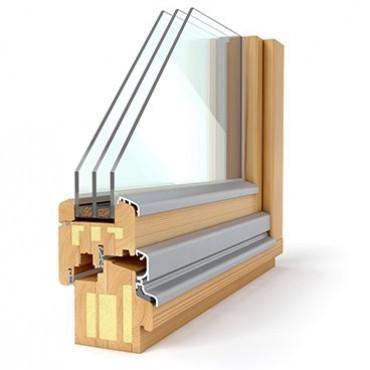 Lesena okna Solution 68
