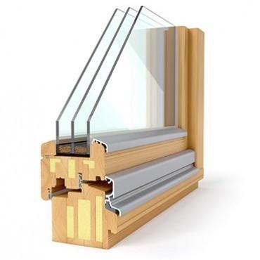 Lesena okna Solution 92