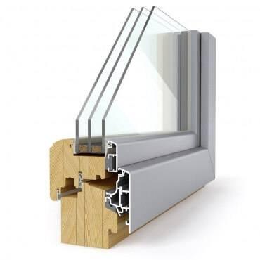 Lesena okna z aluminijem so višek elegance