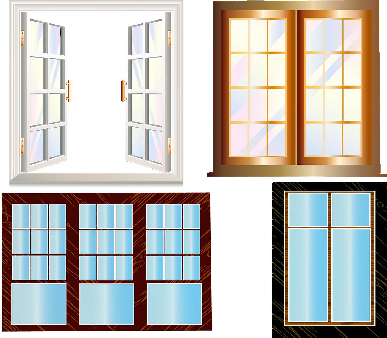Oblika lesenih oken