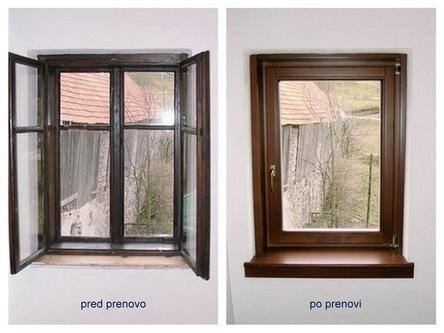 Obnova starih lesenih oken