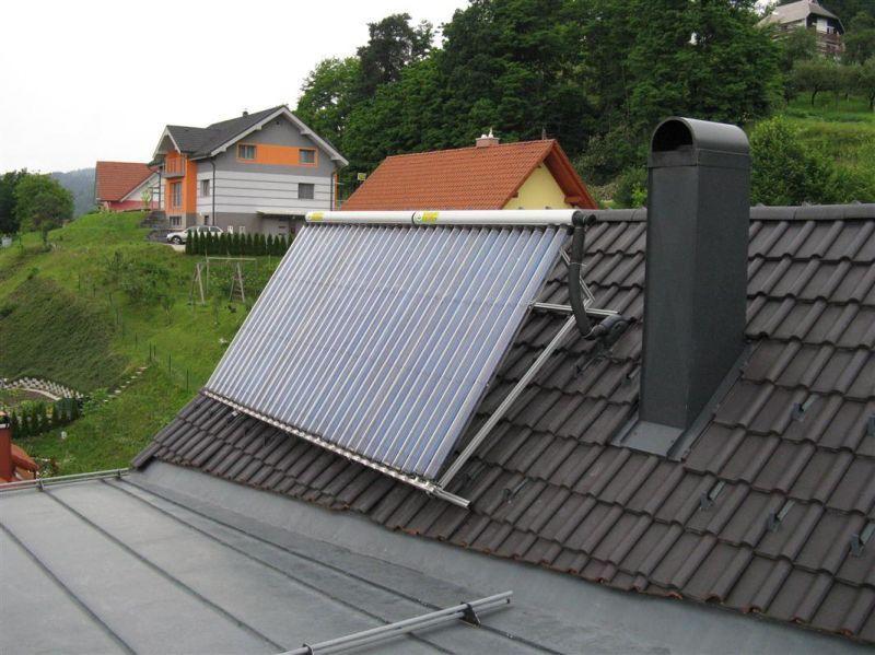 solarno ogrevanje hiše Energie