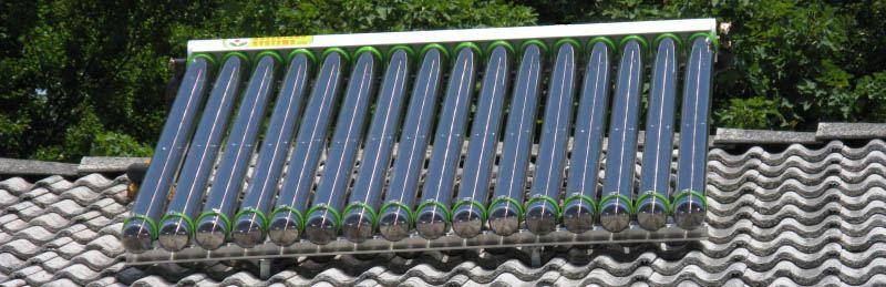 solarno ogrevanje hiše