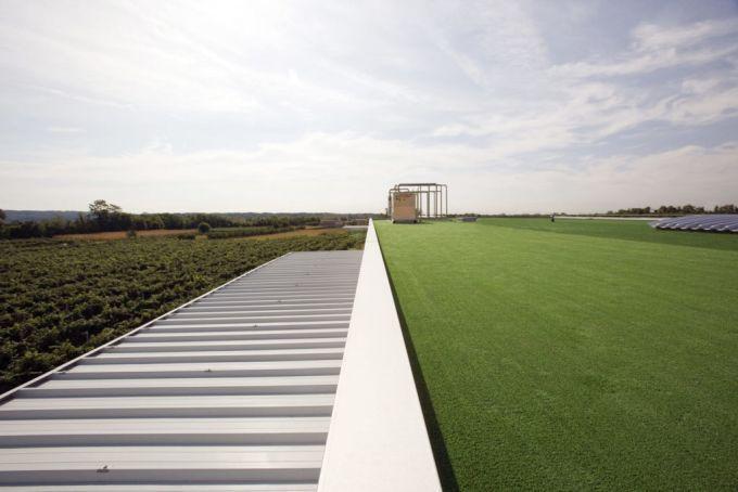 Zelena ravna streha