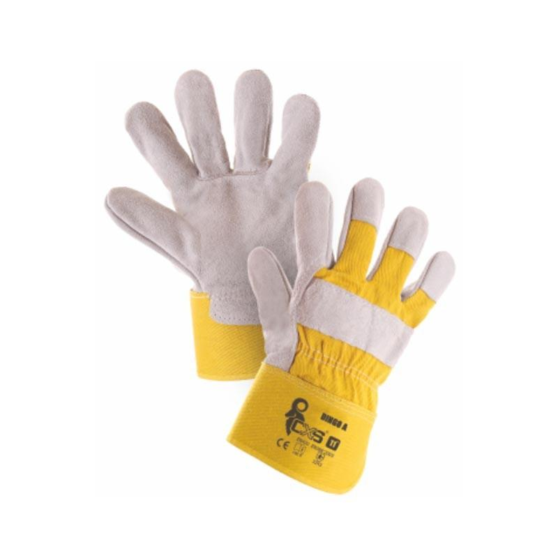 Nepremočljive usnjene delovne rokavice