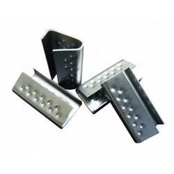 Kovinske zaklopke za povezovalne trakove