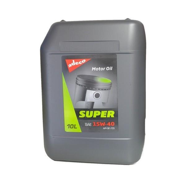 Motorno olje primerno za uporabo v bencinskih in dizelskih motorjih brez turbine.