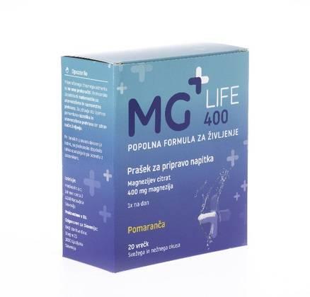 Magnezijev napitek za dnevni vnos