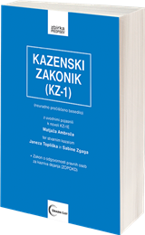 kazenski zakonik KZ-1