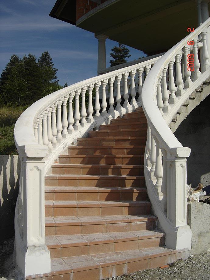 Betonski stebri za ograje cena