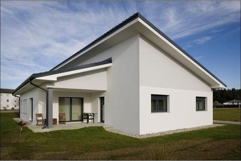 moderna atrijska hiša