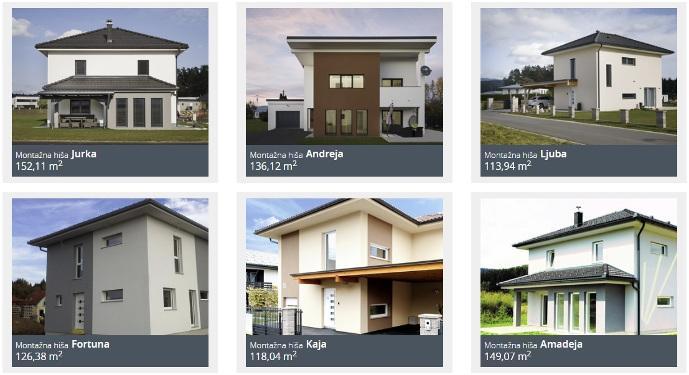 enodružinske hiše