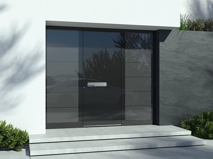 Vhodna vrata razstavni eksponat
