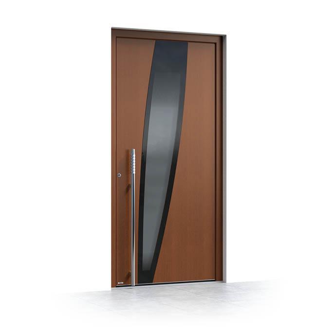 vhodna vrata iz lesa