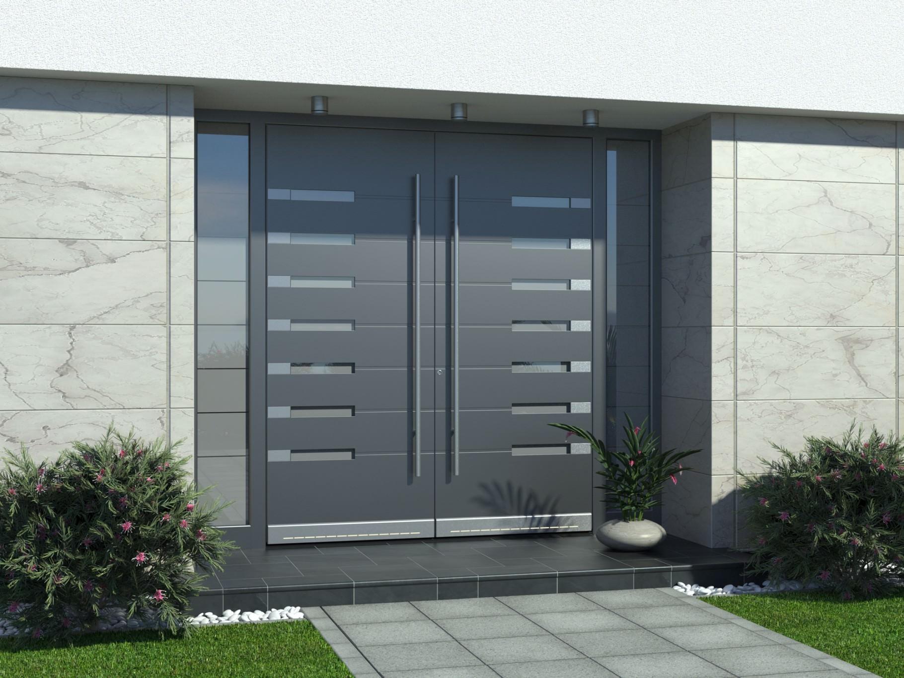 Alu vhodna vrata za hišo