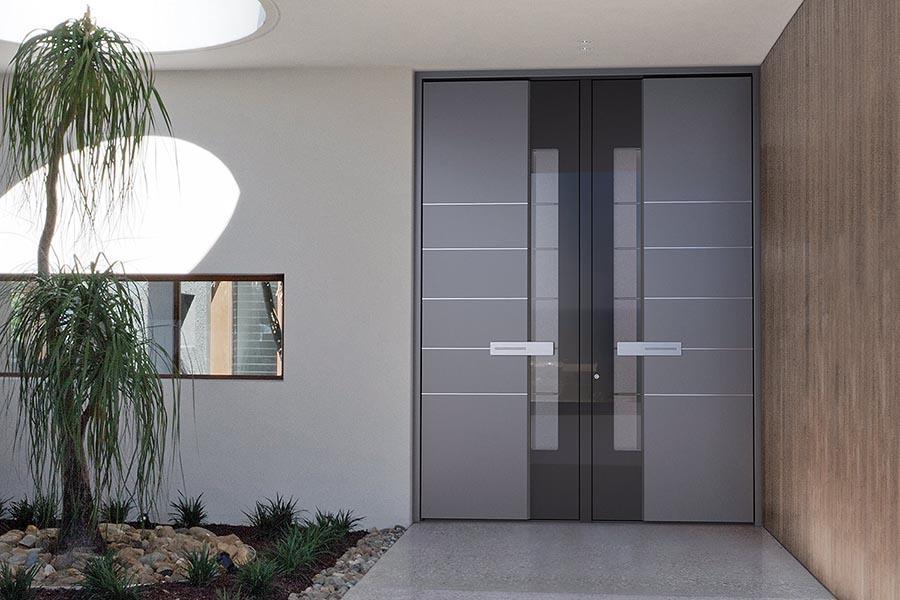 Vhodna vrata iz aluminija