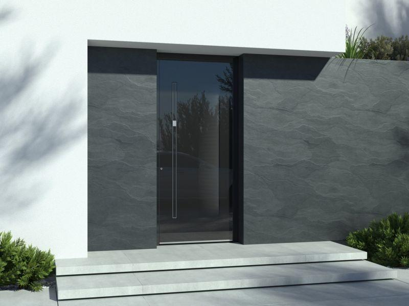 vhodna vrata - odpiranje na dotik
