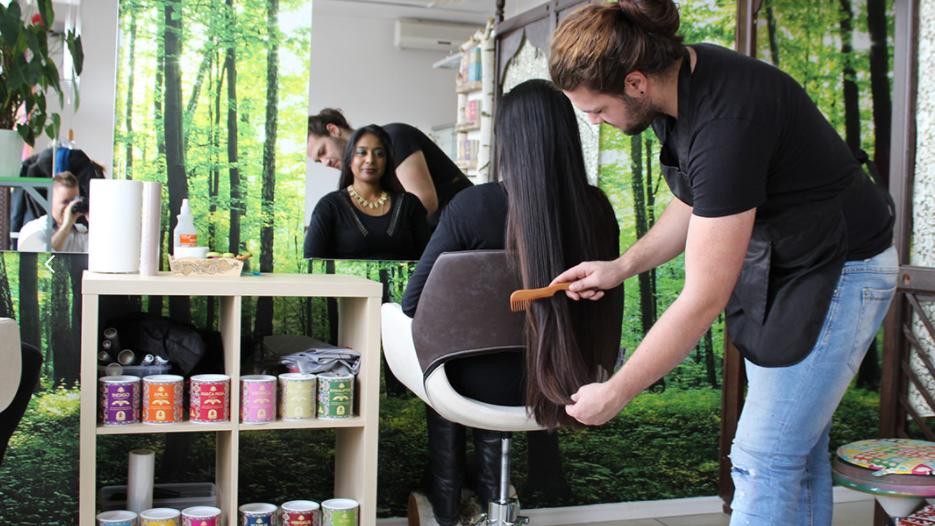 ekološki frizerski salon Etnobotanika