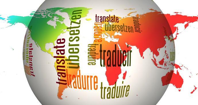 prevajanje besedila v tuje jezike