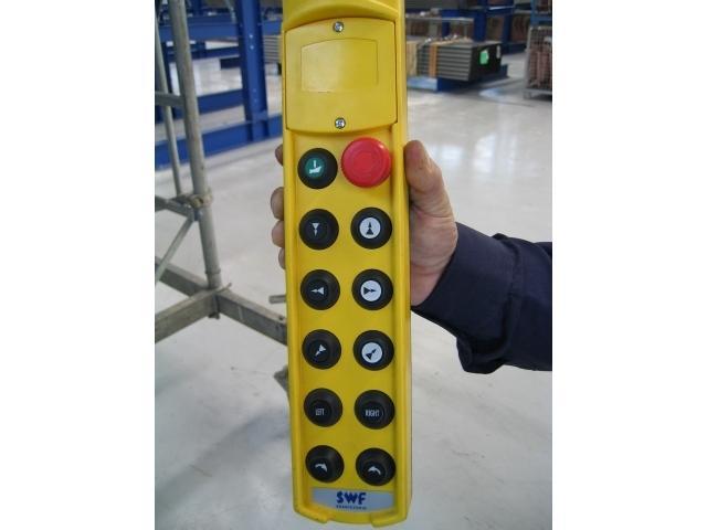 daljinsko radijsko upravljanje dvigala