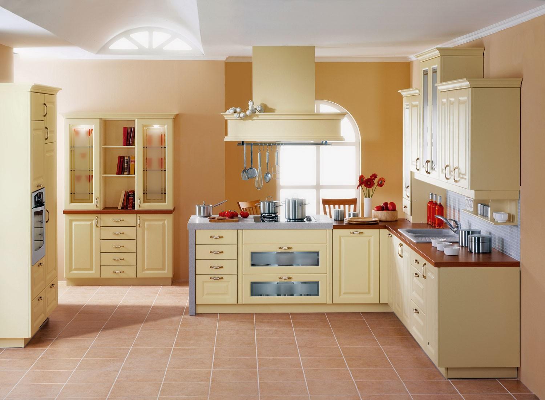 Barve sten v moderni kuhinji