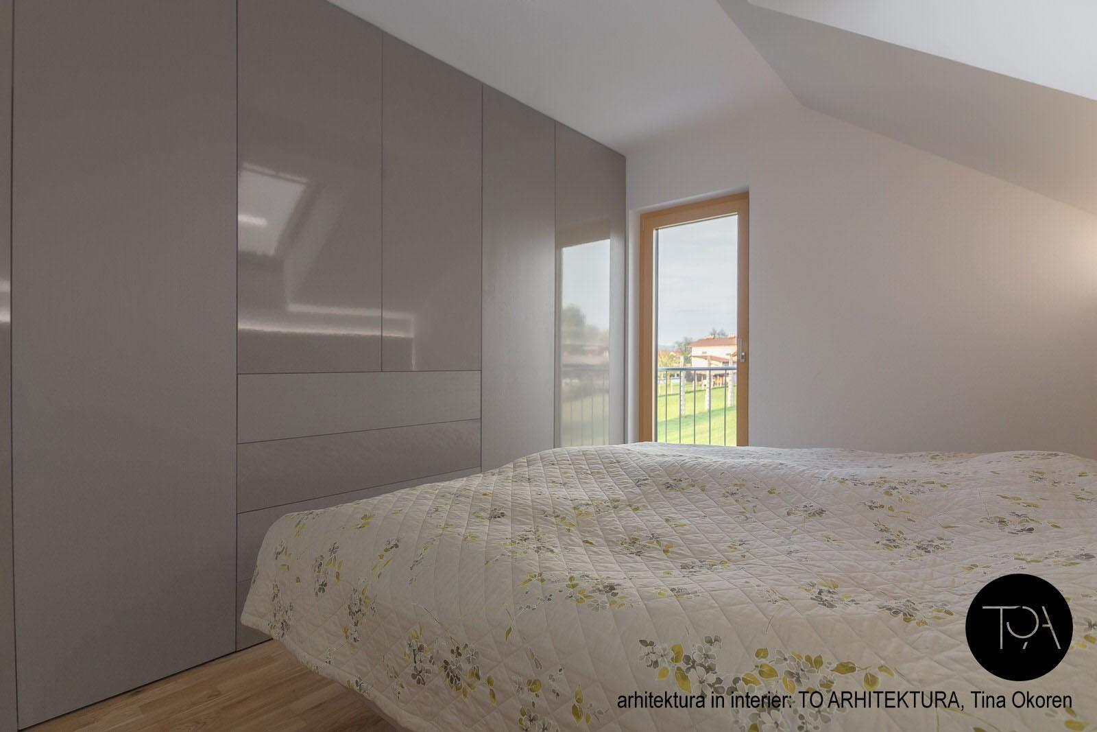 Moderne spalnice izdelane po meri