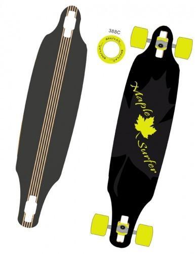 Longboard rolke