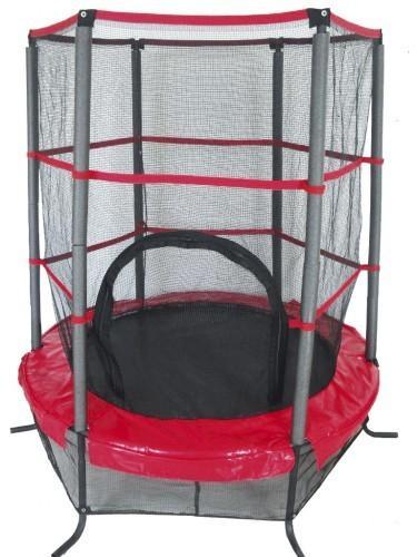 Sobni trampolin z zaščitno ograjo
